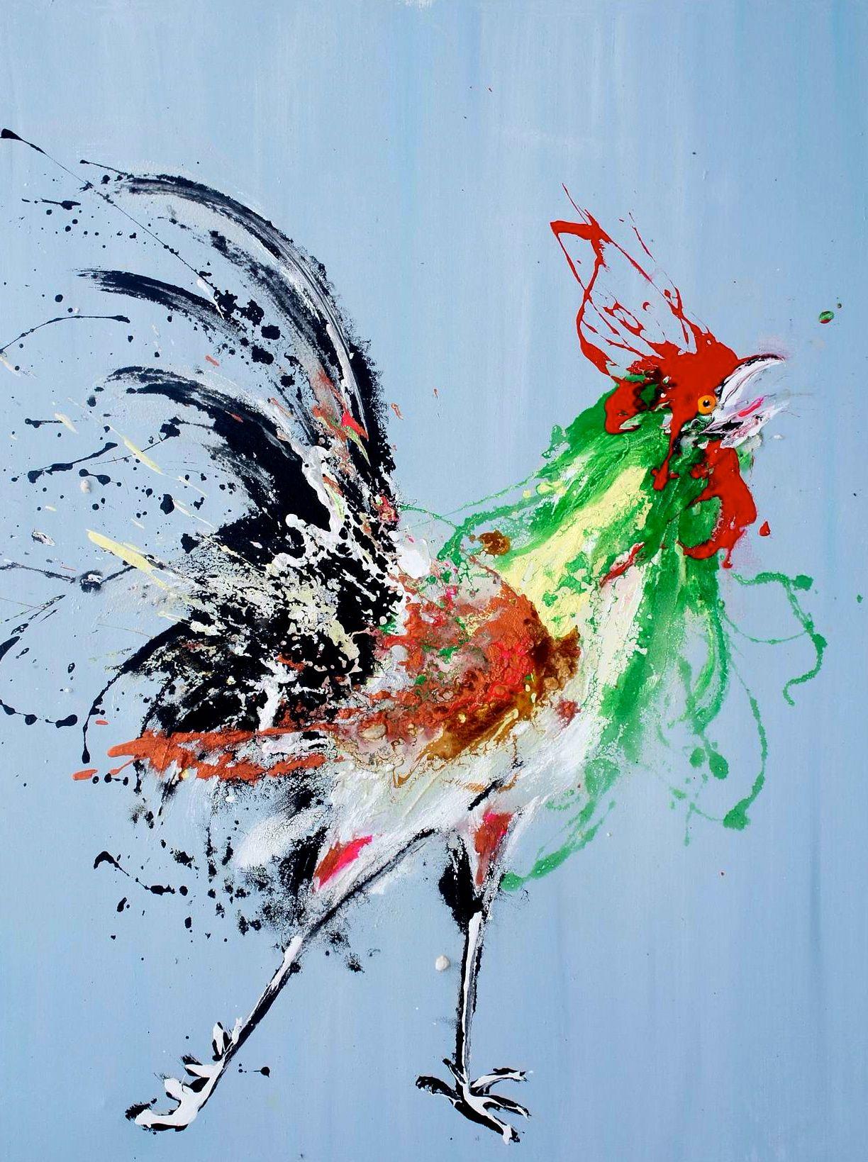 """Résultat de recherche d'images pour """"le coq dans la peinture"""""""