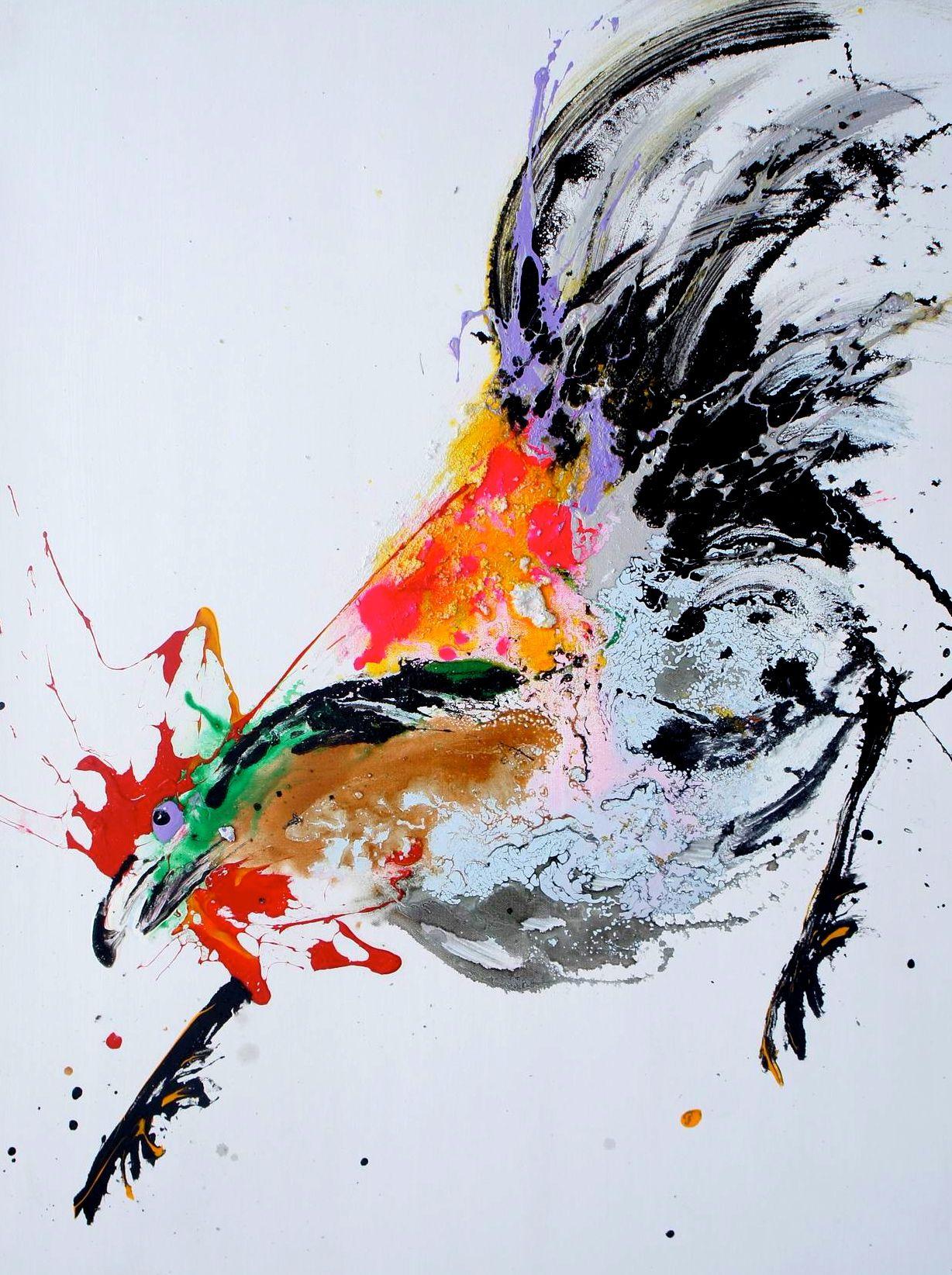 Poule gauloise qunce zeng artistes galerie d 39 art jean for Art contemporain artistes